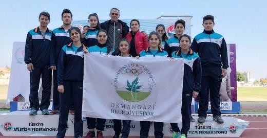Atmalar Ligi'nde Osmangazi Fırtınası E ...