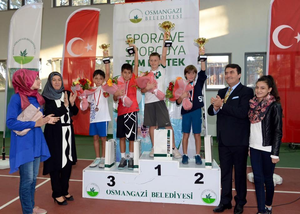 10 yaş Osmangazi Kupası Final maçları