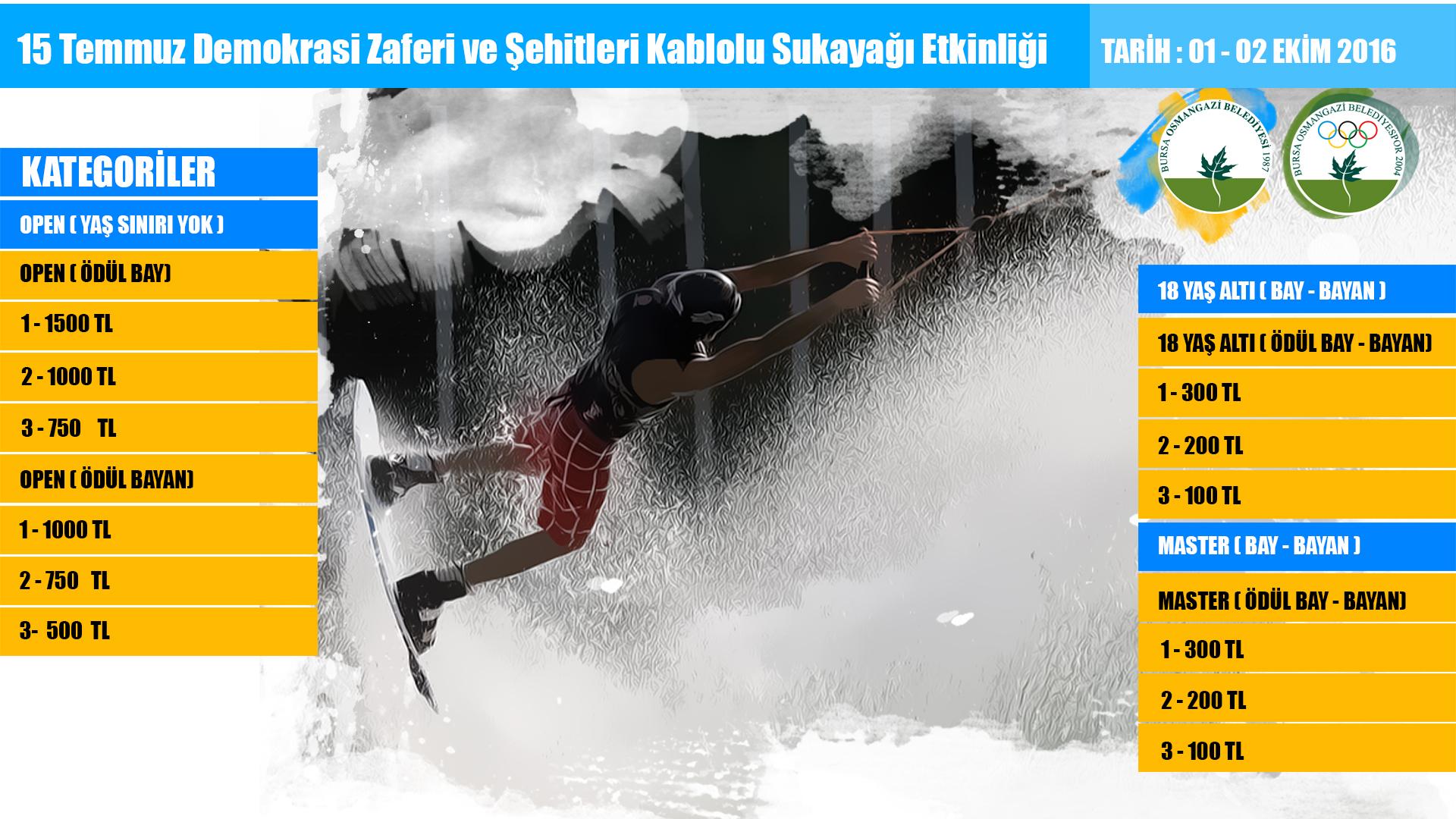 15 Temmuz Osmangazi  Belediyesi Wakeboard Etkinligi