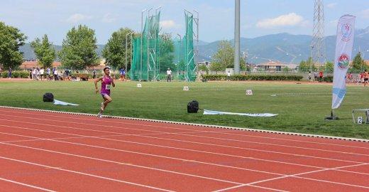 Osmangazi'de Atletizm Fırtınası