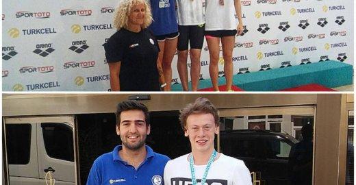 Osmangazi'li Yüzücüler Başarıya Doymuyor