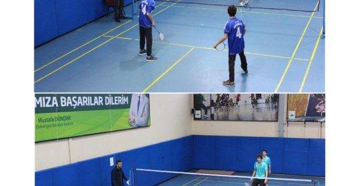 Acemler Spor Salonu'nda Badminton Fırtınası