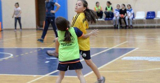 Osmangazi'li Minik Hentbolcular Türkiye Üçüncüsü